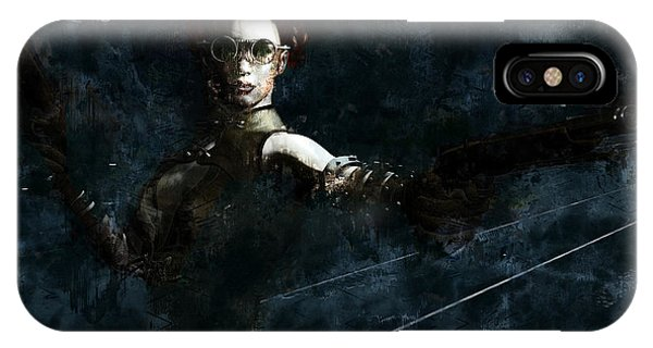 Steampunk Stand-off IPhone Case
