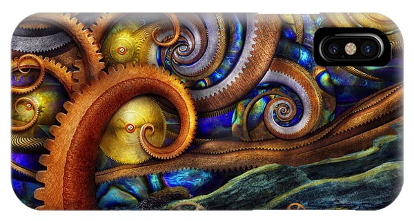 Steampunk - Starry Night IPhone Case