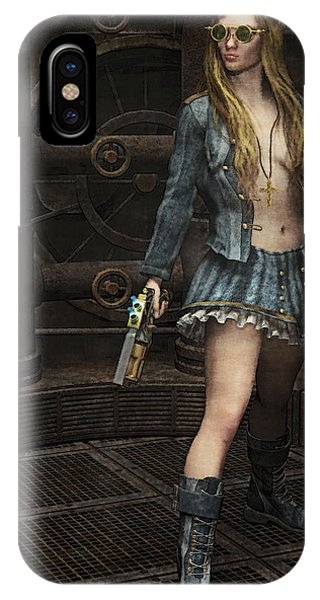 Steampunk Vixen IPhone Case