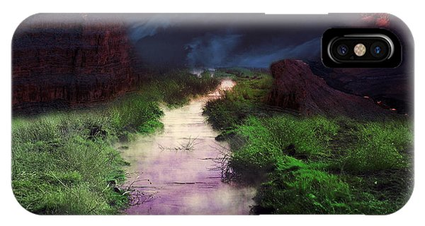 Steamy Creek IPhone Case
