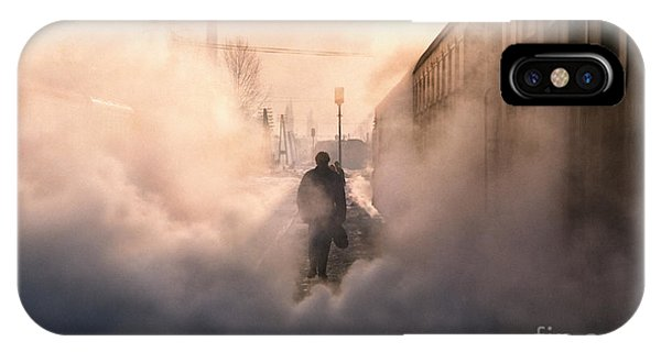 Sleeper iPhone Case - Steamy Station by Rod McLean