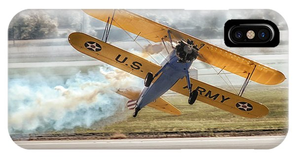Stearman Model 75 Biplane IPhone Case