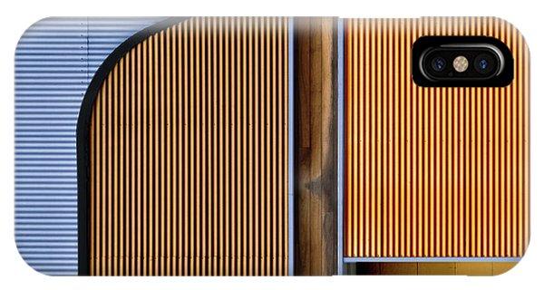 Steel iPhone Case - Steel & Wood. by Harry Verschelden