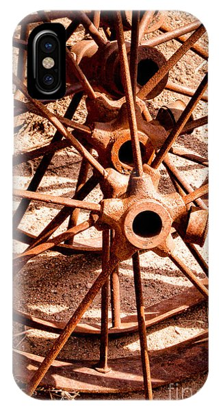 Steel Spokes IPhone Case