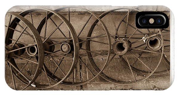 Steel Wheels IPhone Case