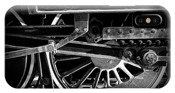Steel Wheels - Steam Train Drivers IPhone Case
