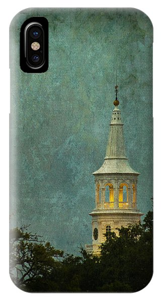 Steeple In A Storm IPhone Case