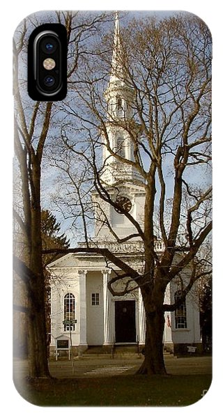 Steeple In The Trees IPhone Case
