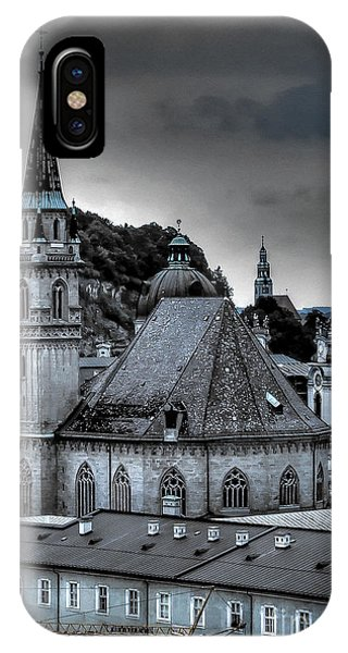 Steeples Over Innsbruck IPhone Case