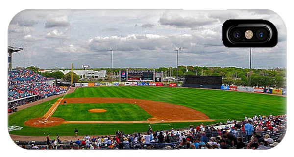 Grapefruit League iPhone Case - Steinbrenner Field 4 by C H Apperson
