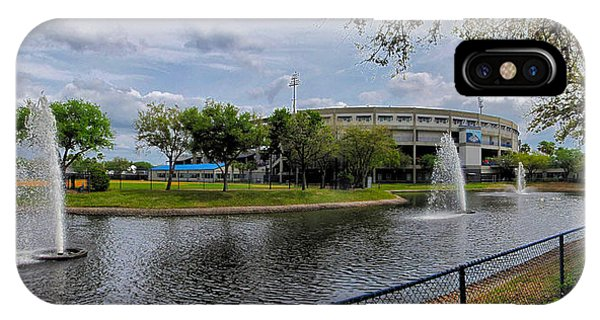 Grapefruit League iPhone Case - Steinbrenner Field Lake by C H Apperson