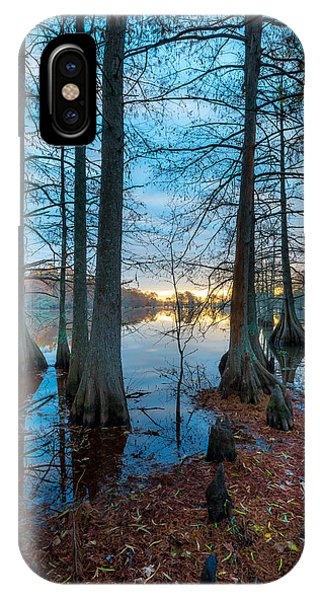 Steinhagen Reservoir Vertical IPhone Case