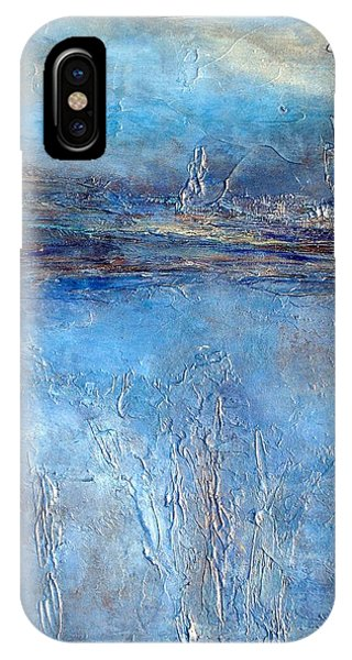 Stellar Wind Abstract Textured Painting IPhone Case