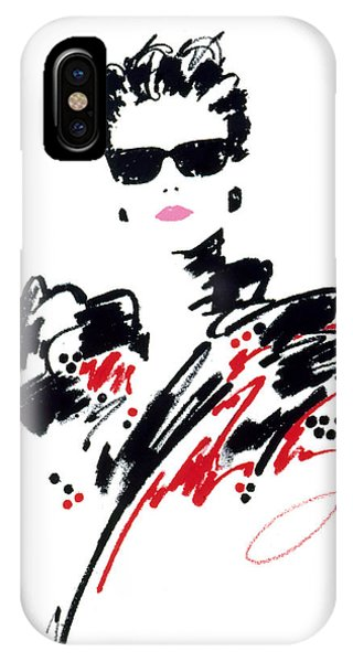 Pastel Pencil iPhone Case - Stephanie by MGL Meiklejohn Graphics Licensing