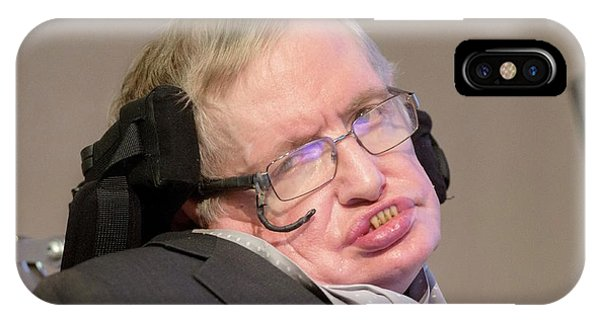 Stephen Hawking Phone Case by Mark Thomas