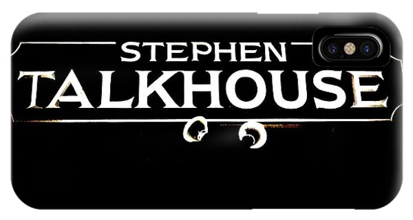 Stephen Talkhouse IPhone Case