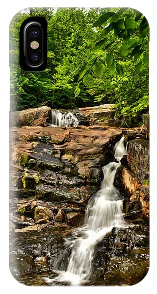 Stepped Falls - Ellsworth New Hampshire Phone Case by Naturally NH