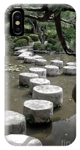 Stepping Stone Kyoto Japan IPhone Case