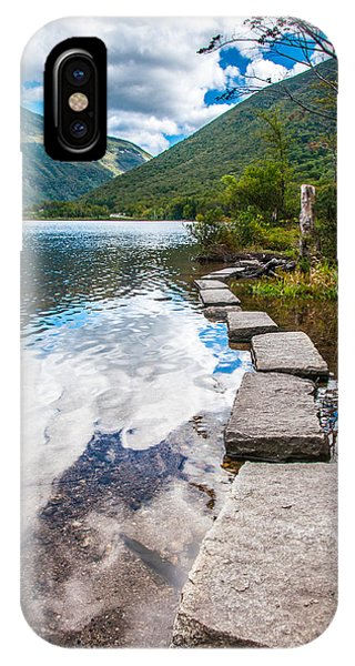 New Hampshire iPhone Case - Stepping Stones by Kristopher Schoenleber