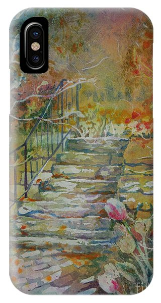 Steps And Tulips IPhone Case