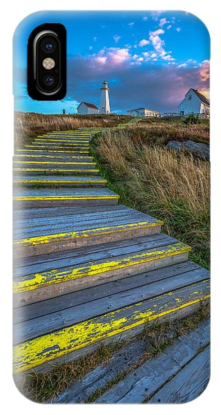 Steps To Cape Spear IPhone Case