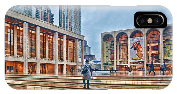 Steps To Fame Lincoln Center IPhone Case