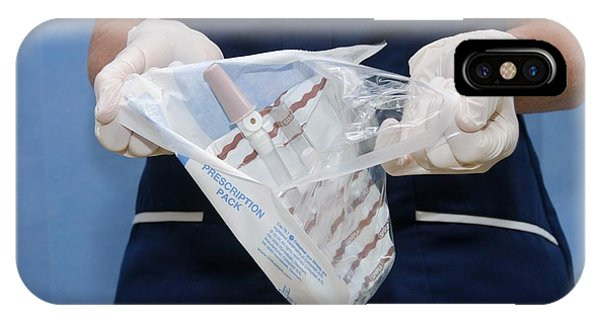 Sterile Urinary Catheter Bag Phone Case by Dr P. Marazzi/science Photo Library