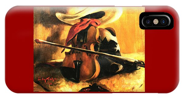 Stetson - Fiddle - Boots  IPhone Case