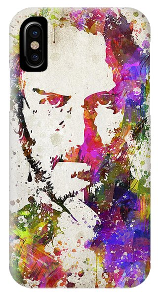 Steve Jobs In Color IPhone Case