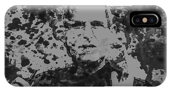 Steve Jobs Paint Splatter 3b IPhone Case
