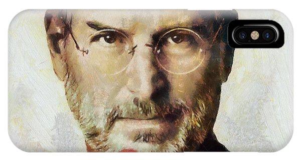 Steve Jobs  Phone Case by Wayne Pascall