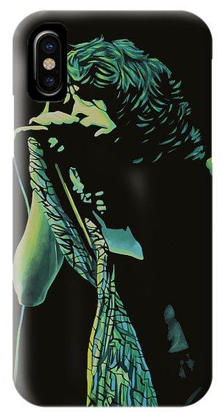 Steven Tyler iPhone Case - Steven Tyler 2 by Paul Meijering