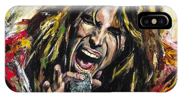 Event iPhone Case - Steven Tyler by Mark Courage