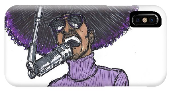 Stevie Afro IPhone Case