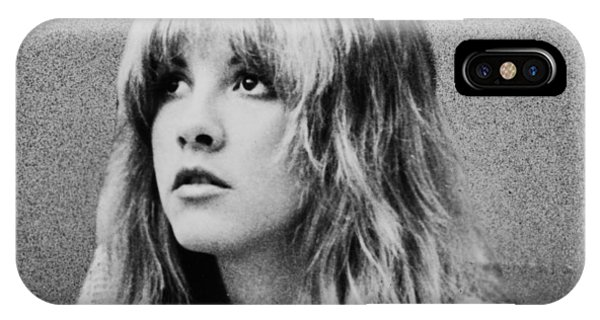 Stevie Nicks Bw IPhone Case