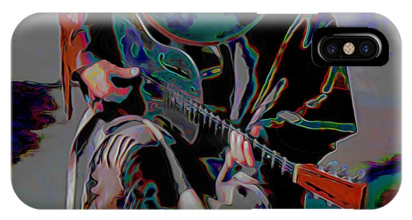 Figurative iPhone Case - Stevie Ray Vaughan Srv by Fli Art