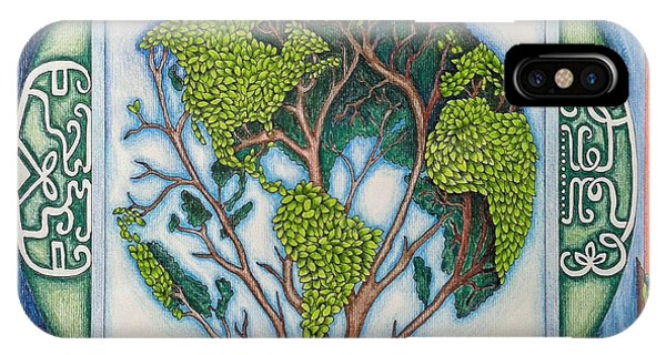 Blueberry iPhone Case - Stewardship Of The Earth by Arla Patch