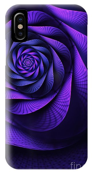 Digital Effect iPhone Case - Stile Floreal by John Edwards