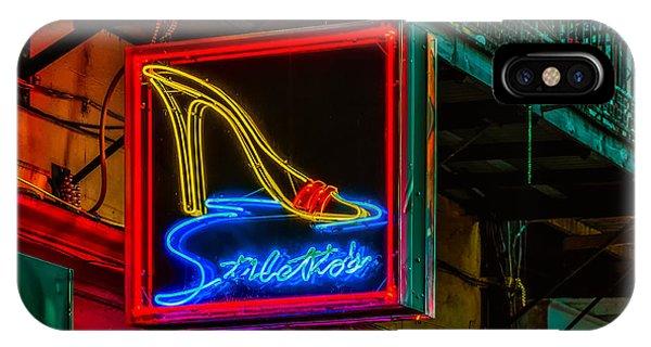 Stilettos On Bourbon Street Nola IPhone Case