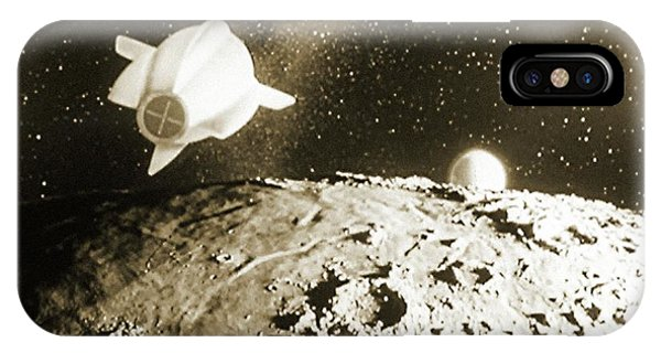 Spaceflight iPhone Case - Still From 'spaceship One Launched' by Detlev Van Ravenswaay