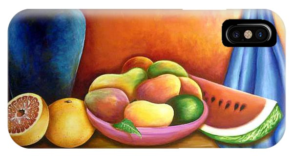 Still Life Of Fruits IPhone Case