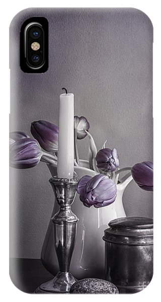 Still Life Study In Purple IPhone Case
