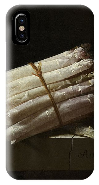 Still Life With Asparagus, Adriaen Coorte Phone Case by Quint Lox