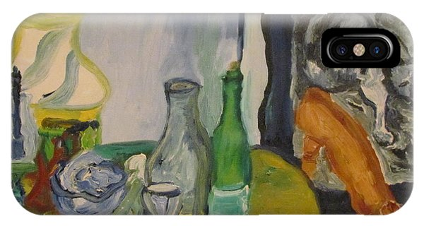 Still Life  With Lamps IPhone Case