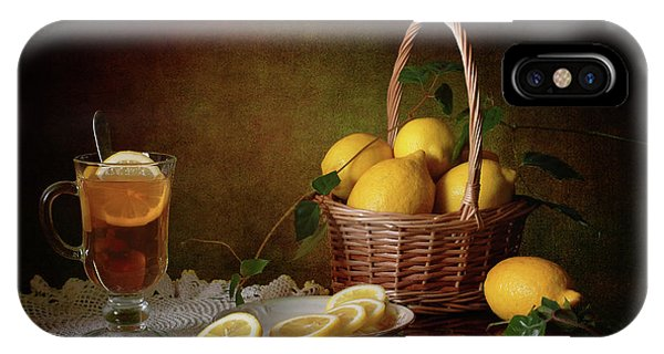 Fruit iPhone Case - Still Life With Lemons by ??????? ????????