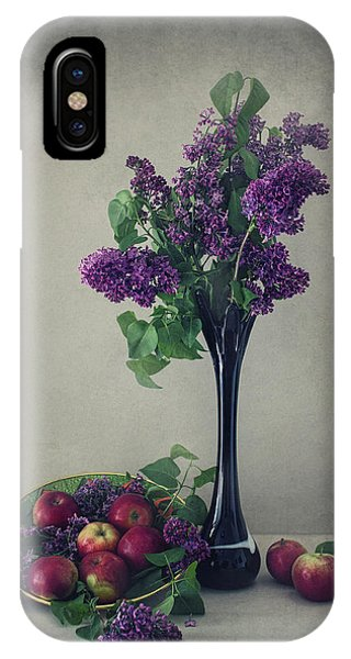 Still Life With Lilac Phone Case by Dimitar Lazarov -