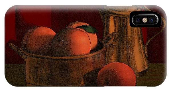 Still Life With Peaches IPhone Case