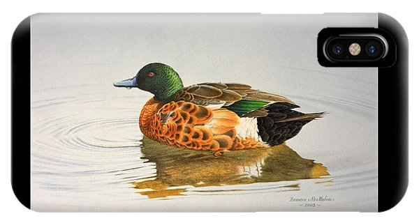 Still Waters - Chestnut Teal IPhone Case