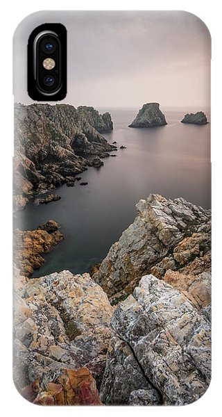 French iPhone X Case - Stillness At The End Of The World by Karsten Wrobel
