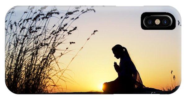 Divine Love iPhone Case - Stillness Of Prayer by Tim Gainey